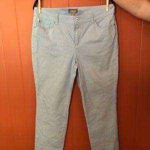 Chico's Skinny Jeans in Light Blue